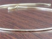 """16.5"""" OMEGA SNAKE 1.5mm NECKLACE CHAIN REAL 18k GOLD 9.1g ITALY"""